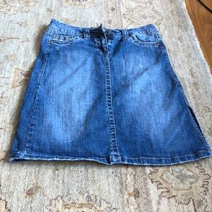 Hydraulic Jean Skirt like new condition